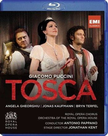 Giacomo Puccini / Tosca // Angela Gheorghiu / Jonas Kaufmann / Bryn Terfel / Orchestra and Chorus of the Royal Opera House / Antonio Pappano