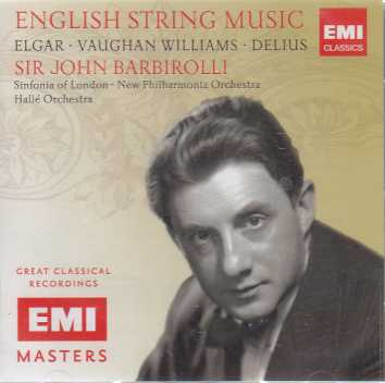 English String Music / Sinfonia of London / New Philharmonia Orchestra / Hallé Orchestra / Sir John Barbirolli (EMI Masters)