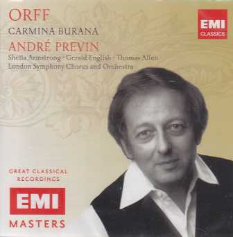 Carl Orff / Carmina Burana / London Symphony Orchestra / André Previn (EMI Masters)