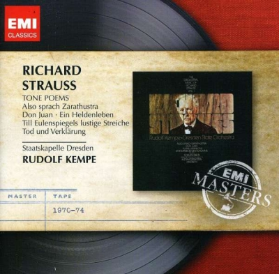 Richard Strauss / Tone Poems // Rudolf Kempe
