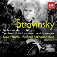 Igor Stravinsky / Le Sacre du printemps / Symphonies of Wind Instruments / Apollon Musagète // Berliner Philharmoniker / Simon Rattle