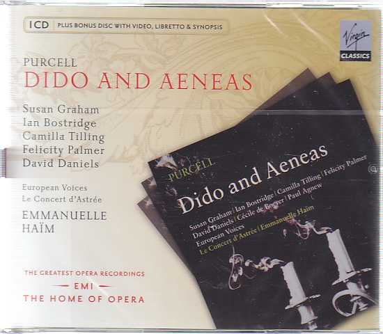 Henry Purcell / Dido and Aeneas // Susan Graham / Ian Bostridge / Le Concert d'Astrée / Emmanuelle Haim