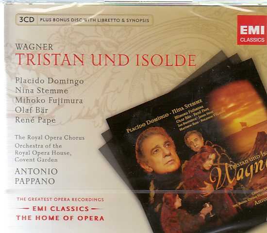 Richard Wagner / Tristan und Isolde / Placido Domingo / Nina Stemme / Orchestra of the Royal Opera House Covent Garden / Antonio Pappano