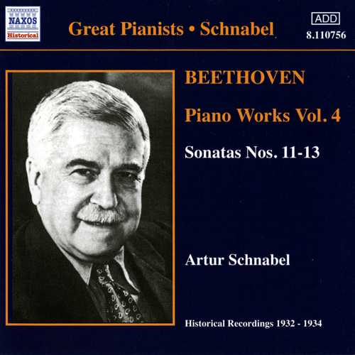 Ludwig van Beethoven / Piano Works Vol. 4 / Artur Schnabel