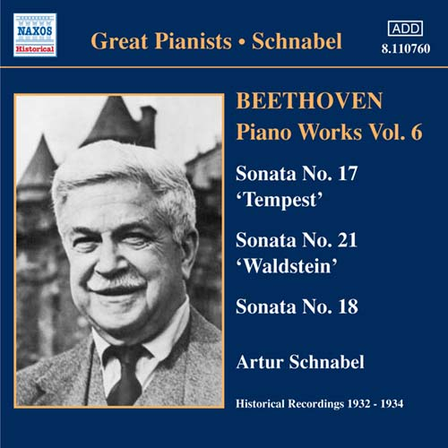 Ludwig van Beethoven / Piano Works Vol. 6 / Artur Schnabel