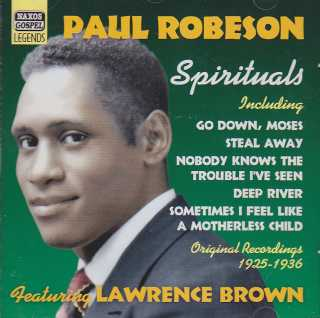 Paul Robeson Spirituals / Original Recordings 1925 - 1936