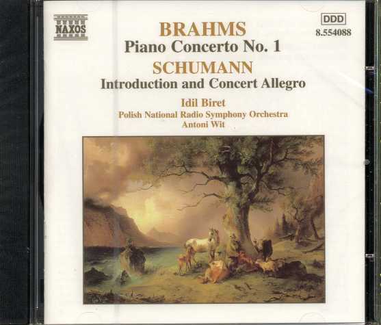 Johannes Brahms / Piano Concerto No. 1 / Robert Schumann / Introduction and Concert Allegro / Idil Biret
