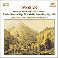 Antonín Dvorák / Music for Violin & Piano Vol. 1