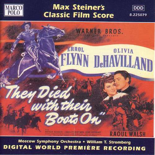 Max Steiner / They Died With Their Boots On // Moscow Symphony Orchestra / William T. Stromberg