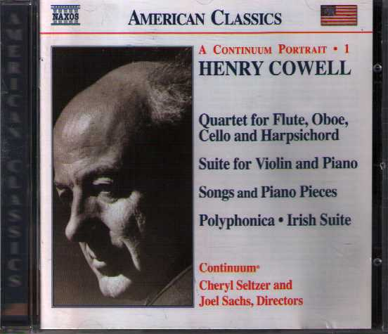 Henry Cowell / Instrumental, Chamber and Vocal Music 1
