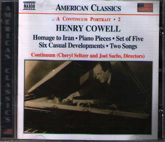 Henry Cowell / Instrumental, Chamber and Vocal Music 2