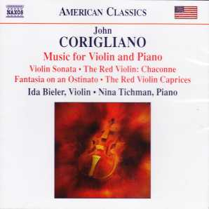 John Corigliano / Music for Violin and Piano