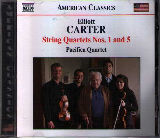 Elliott Carter / String Quartets nos. 1 & 5