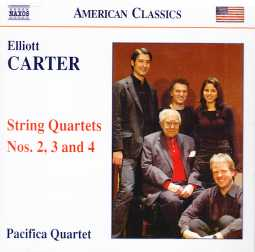 Elliott Carter / String Quartets 2-4 // Pacifica Quartet