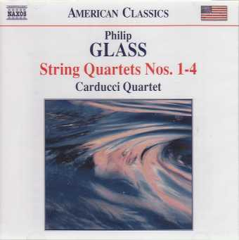 Philip Glass / String Quartet Nos. 1-4 / Carducci Quartet