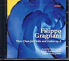 Filippo Gragnani / Three Duets for Violin and Guitar / Erkki Palola / Ilkka Virta