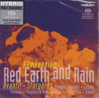 Eero Hämeenniemi / Red Earth And Rain / Avanti! / John Storgårds SACD
