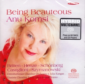 Anu Komsi / Being Beauteous SACD