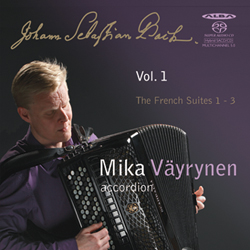 J.S. Bach / French Suites 1-3 // Mika Väyrynen