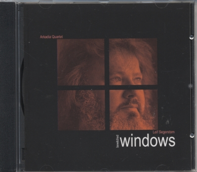 Leif Segerstam / Bewitched Windows // Arkadia Quartet