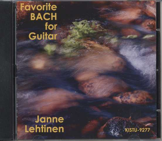 J.S. Bach / Favourite Bach for guitar / Janne Lehtinen, guitar