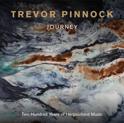 Trevor Pinnock / Journey - 200 Years of Harpsichord Music // Antonio de Cabezón / William Byrd / Thomas Tallis / John Bull / Jan Sweelinck / J.S. Bach / Girolamo Frescobaldi / Georg Friedrich Händel / Domenico Scarlatti