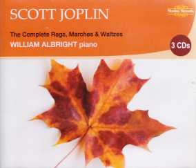 Scott Joplin / The Complete Rags, Marches & Waltzes 3CD