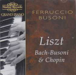 Ferruccio Busoni / Grand Piano