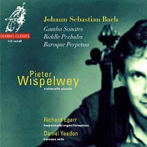J.S. Bach / Gamba Sonatas / Riddle Preludes / Baroque Perpetua / Pieter Wispelwey