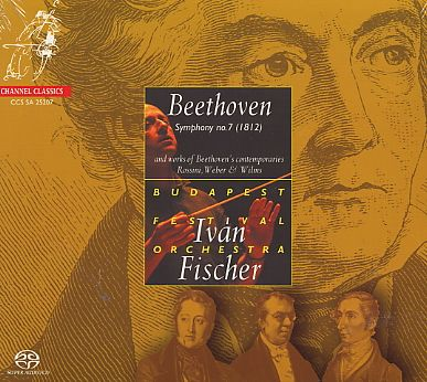Ludwig van Beethoven / Symphony no. 7 / Budapest Festival Orchestra / Iván Fischer SACD