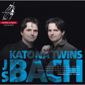 J.S. Bach / Arranged for Guitars // Katona Twins