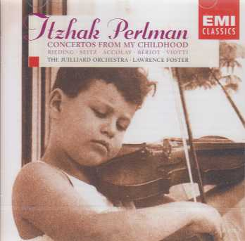 Itzhak Perlman / Concertos from my childhood