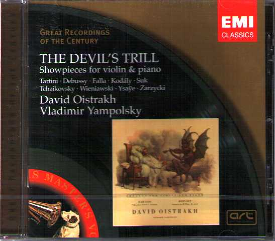The Devil's Trill - Showpieces for Violin and Piano / David Oistrakh / Great Recordings of the Century