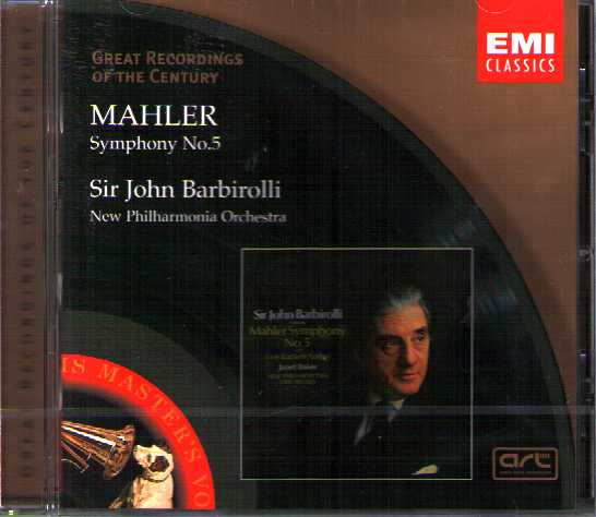 Gustav Mahler / Symphony no. 5 / Sir John Barbirolli / Great Recordings of the Century