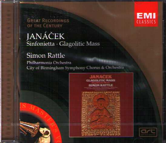 Leoš Janácek / Sinfonietta / Glagolitic Mass / Simon Rattle / Great Recordings of the Century