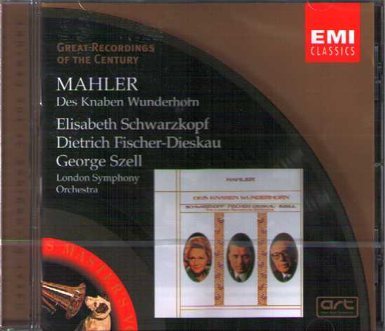 Gustav Mahler / Des Knaben Wunderhorn / George Szell / Elisabeth Schwarzkopf / Great Recordings of the Century
