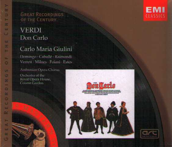 Giuseppe Verdi / Don Carlo / Domingo / Caballe / Raimondi / Great Recordings of the Century