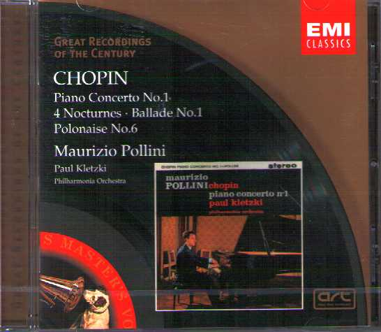 Frédéric Chopin / Piano Concerto No. 1, etc. / Maurizio Pollini / Great Recordings of the Century