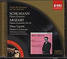 Robert Schumann, W.A. Mozart / Piano Concertos / Dinu Lipatti / Herbert von Karajan / Great Recordings of the Century