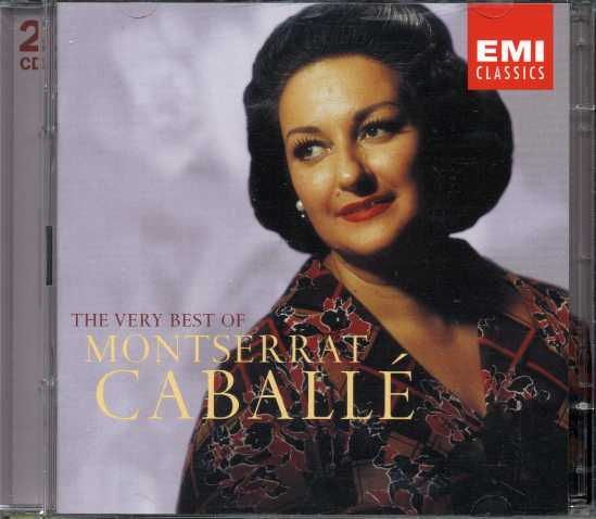 Montserrat Caballé / The Very Best Of 2CD / Verdi / Puccini / Montsalvatge / Bellini etc.