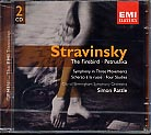 Igor Stravinsky / The Firebird / Petrushka, etc. / CBSO / Simon Rattle 2CD