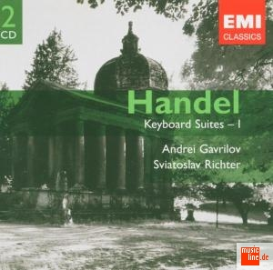 Georg Frideric Händel / Keyboard Suites Vol. 1 /  Andrei Gavrilov / Sviatoslav Richter 2CD
