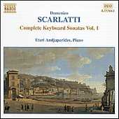 Domenico Scarlatti / Complete Keyboard Sonatas Vol. 1 / Benjamin Frith, piano