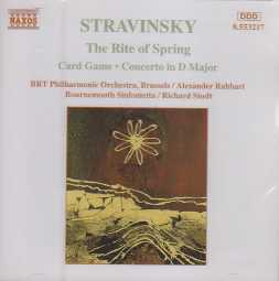 Igor Stravinsky / The Rite of Spring / Card Game / Concerto in D