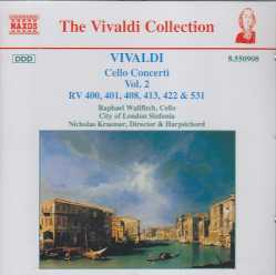 Antonio Vivaldi / Cello Concerti vol. 2