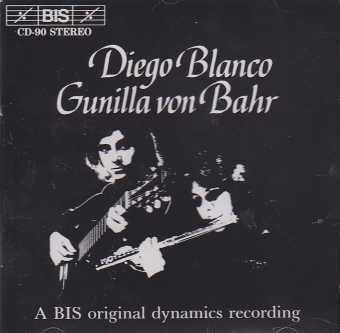 Music for flute & piano / Diego Blanco/ Gunilla von Bahr