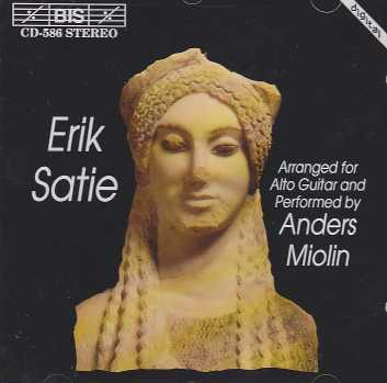 Erik Satie / Anders Miolin (alto guitar)