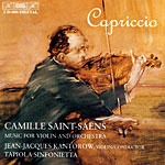 Camille Saint-Saëns / Music for Violin and Orchestra / Tapiola Sinfonietta / Jean-Jacques Kantorow