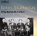 Nikos Skalkottas / String Quartets No. 3 & No. 4 / New Hellenic Quartet