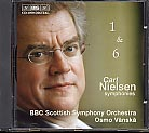Carl Nielsen / Symphonies No. 1 & No 6 / BBC Scottish SO / Osmo Vänskä